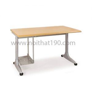 Bàn chân sắt mặt gỗ công nghiệp BCS12-LV-1 sản xuất bởi nội thất 190