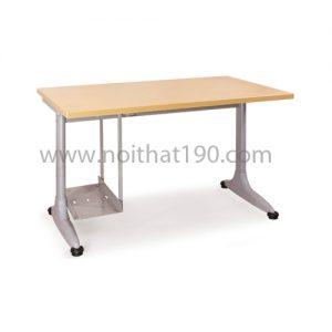 Bàn chân sắt mặt gỗ công nghiệp BCS12-MV-1 sản xuất bởi nội thất 190