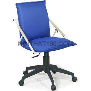 Ghế xoay văn phòng GX12.1-N-1 màu xanh của Nội thất 190