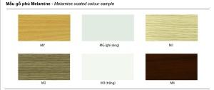 Màu gỗ Melamine
