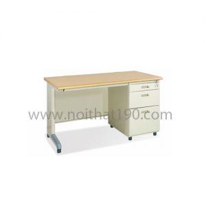 Bàn chân sắt mặt gỗ công nghiệp BS12H-LV sản xuất bởi nội thất 190