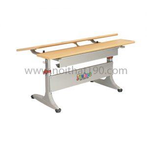 Bàn học sinh BHS02-LV chân sắt, mặt gỗ công nghiệp. Sản xuất bởi nội thất 190