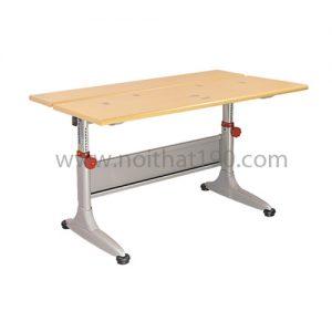 Bàn học sinh BHS02B-LV chân sắt, mặt gỗ công nghiệp. Sản xuất bởi nội thất 190