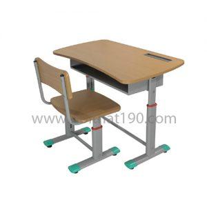 Bàn học sinh BHS03V chân sắt, mặt gỗ công nghiệp. Sản xuất bởi nội thất 190