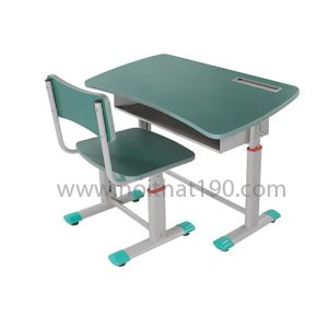 Bàn học sinh BHS03X chân sắt, mặt gỗ công nghiệp. Sản xuất bởi nội thất 190