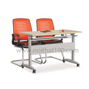 Bàn làm việc văn phòng mặt gỗ công nghiệp BHL14 sản xuất bởi nội thất 190
