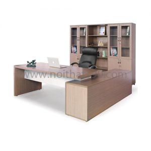 Bàn làm việc lãnh đạo mặt gỗ công nghiệp BLD01 sản xuất bởi nội thất 190