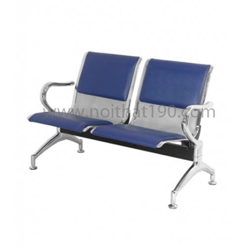 Ghế phòng chờ inox được dùng cho sảnh chờ nhà ga, sân bay, bệnh viện