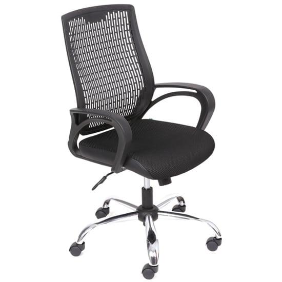 Ghế văn phòng lưng trung chân mạ GX301A-M