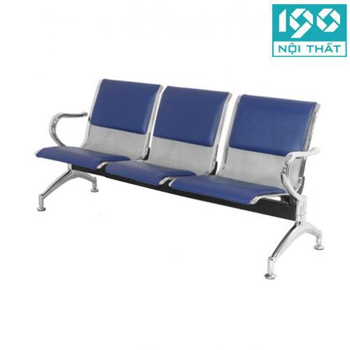 Ghế băng chờ inox được sử dụng khu vực chờ văn phòng công ty, sân bay