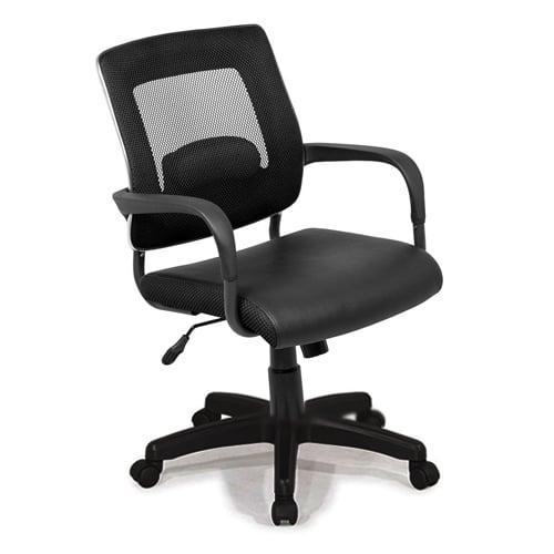 Ghế lưới văn phòng chân nhựa GX209B-N
